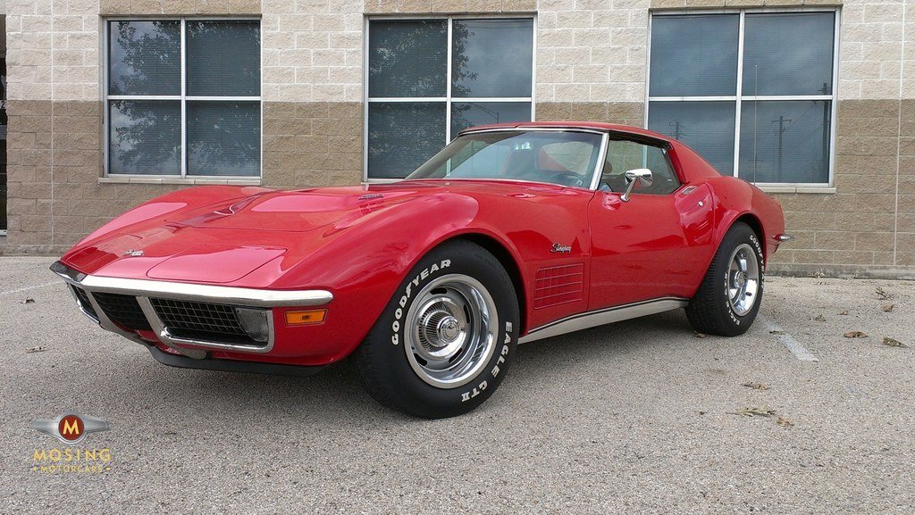 1971 chevrolet corvette 454 stingray