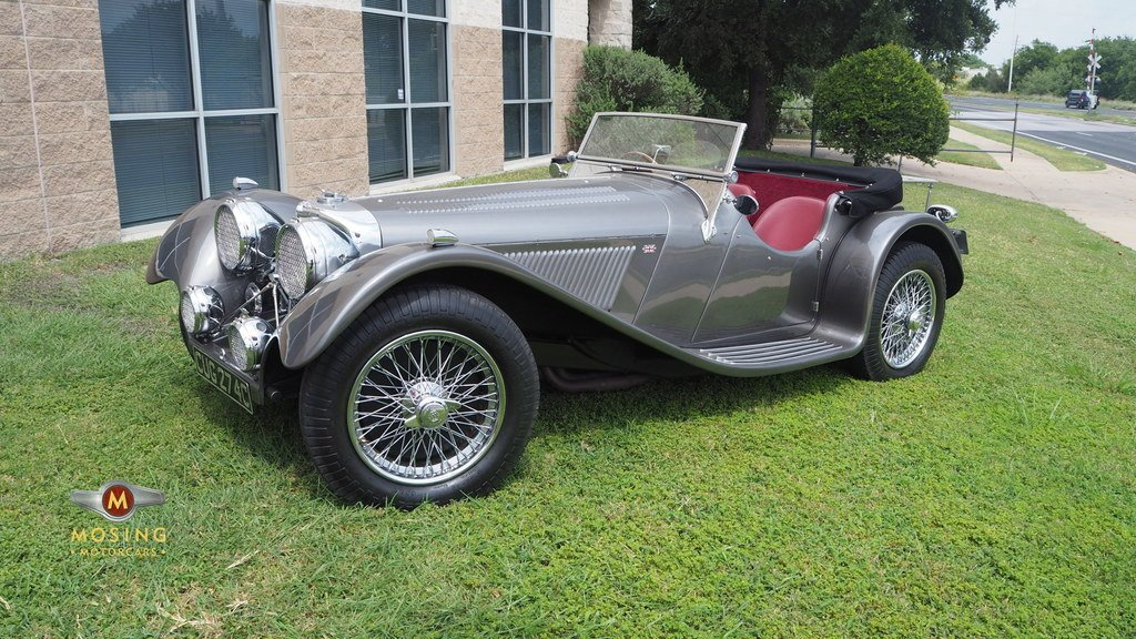 1937 jaguar ss100 suffolk reproduction