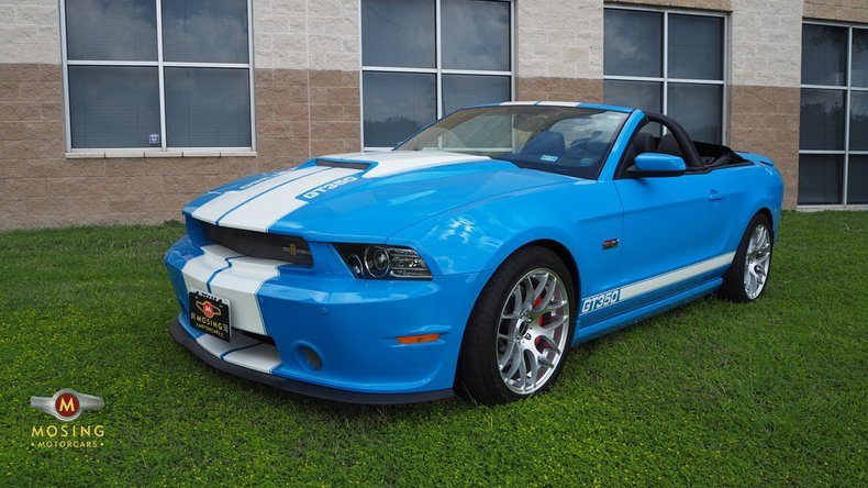 2013 Ford Shelby GT350