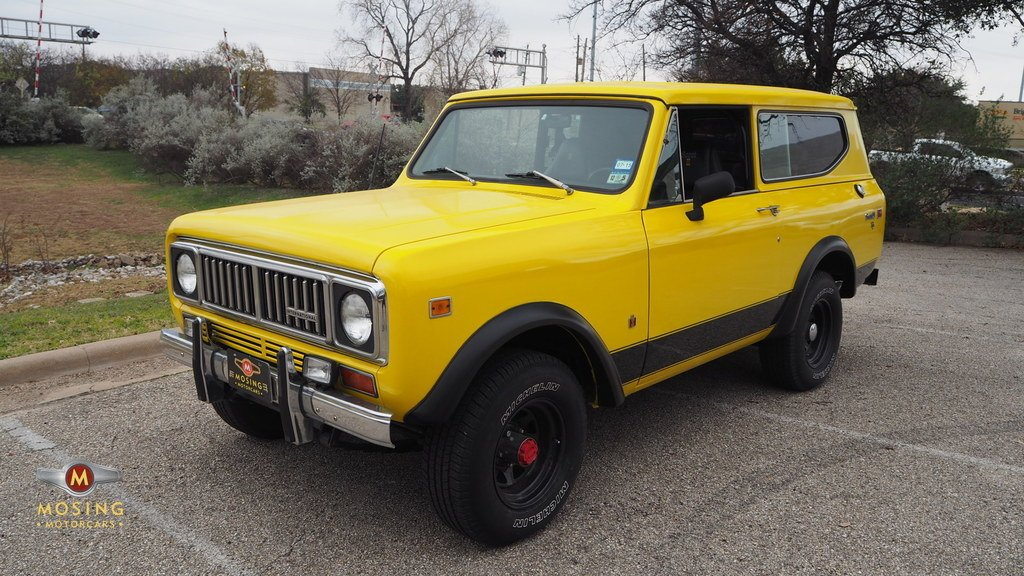 1975 international scout ii 4x4