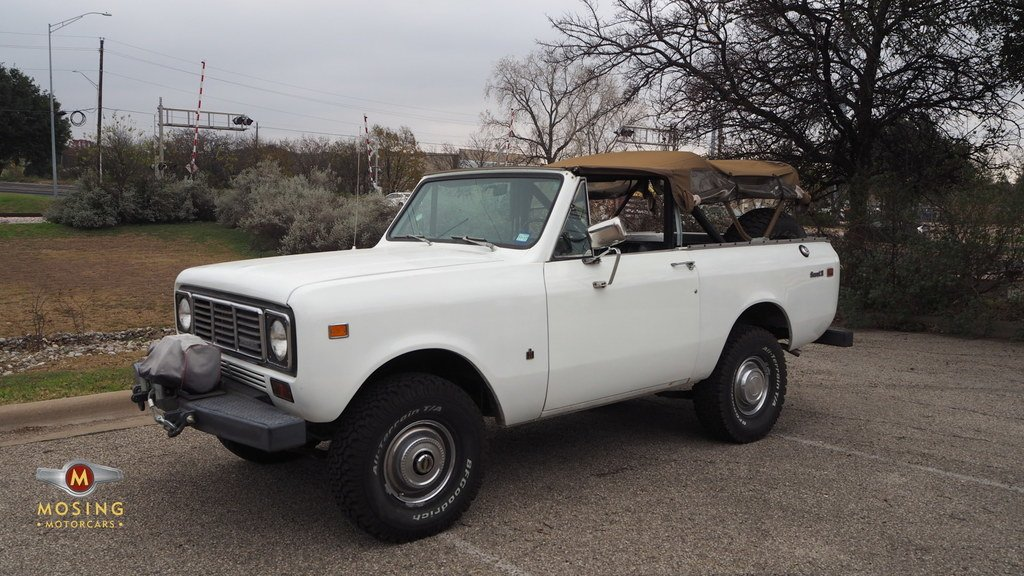 1976 international scout 4x4