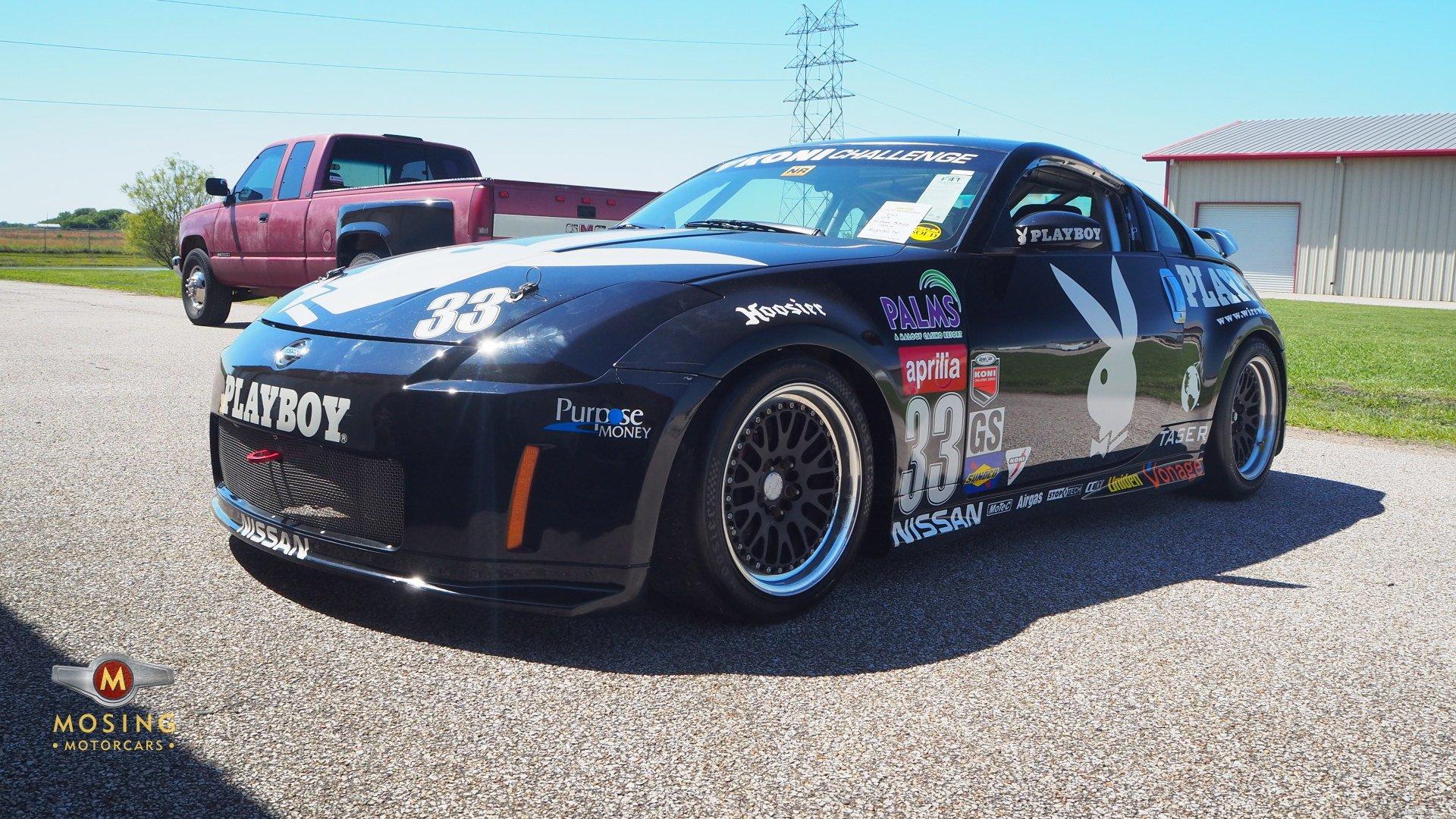 2003 nissan 350z racecar playboy cupcar