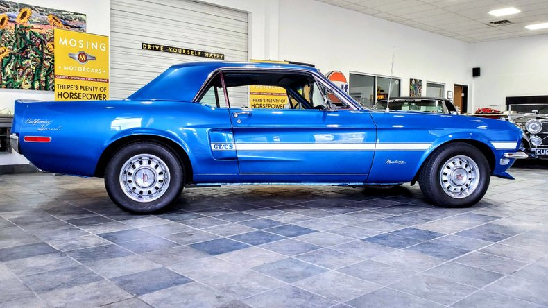 1968 Ford Mustang GT/CS California Special for sale #176184