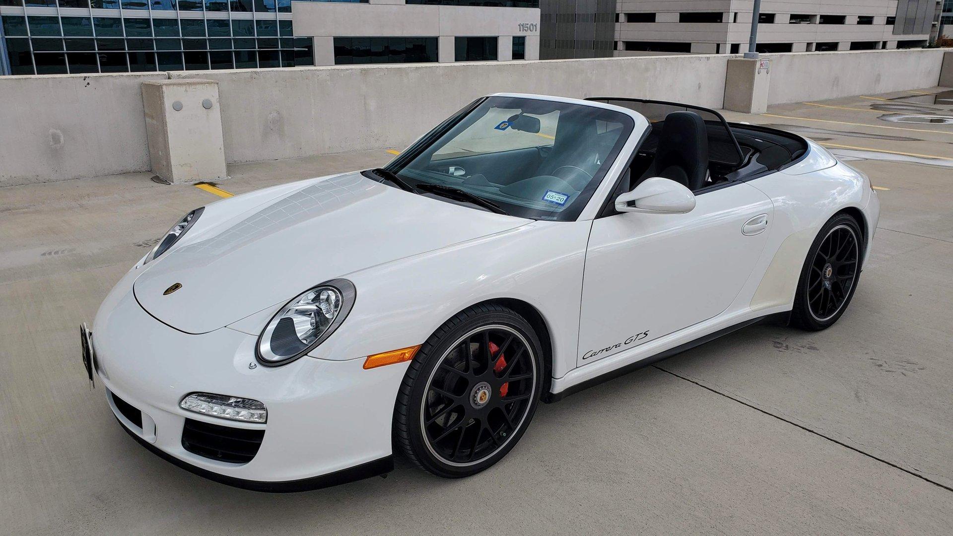 2011 porsche 911 carrera cabriolet gts