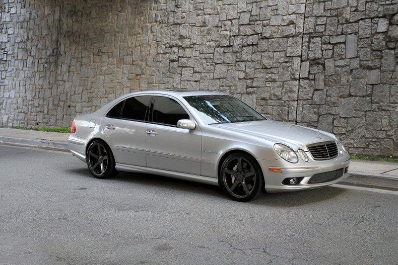 2004 Mercedes-Benz E55