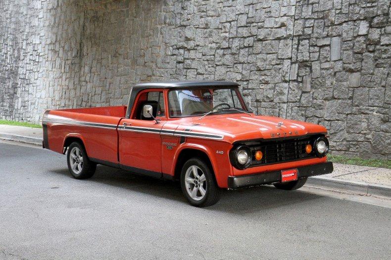 1967 Dodge D100 Sweptline