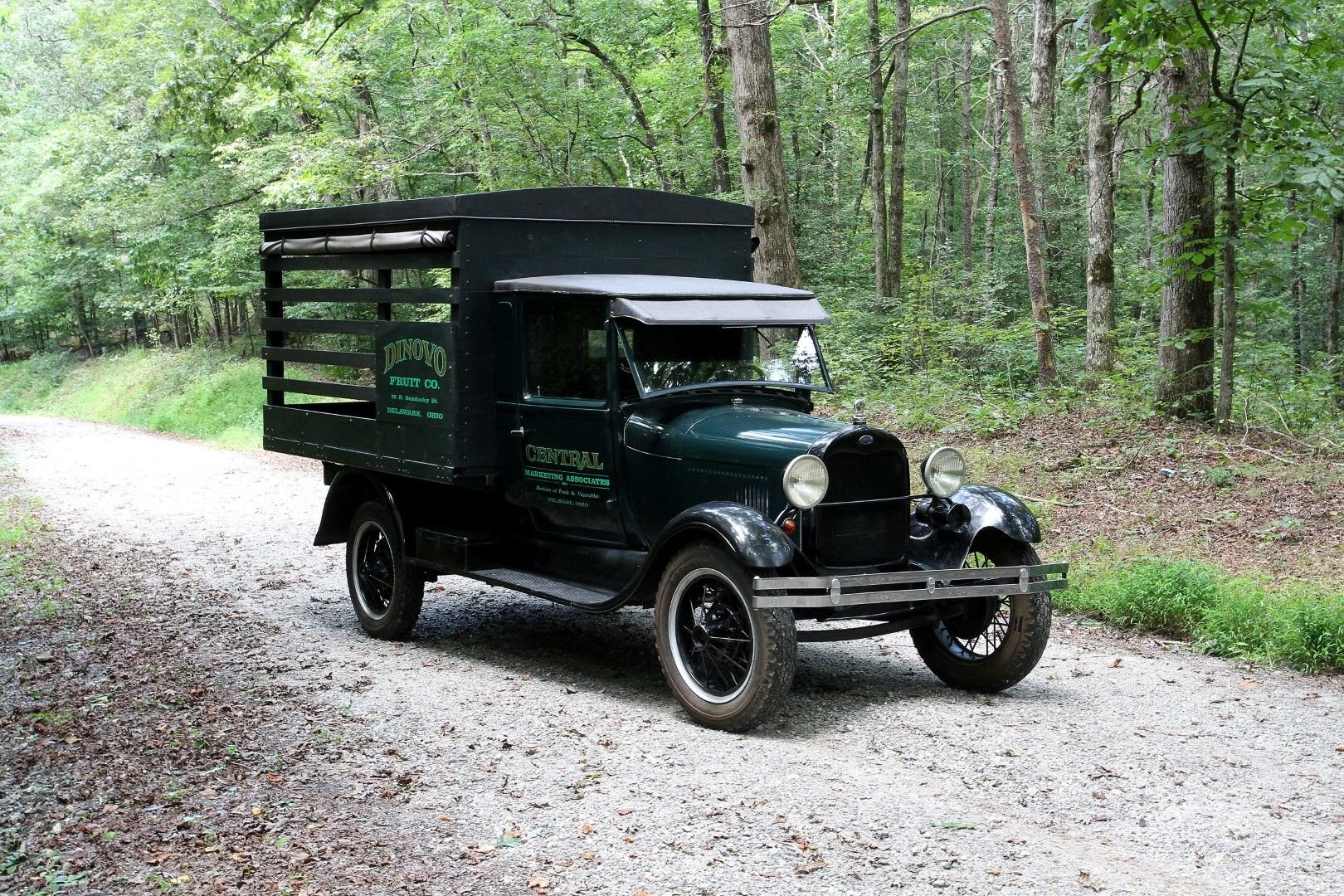 1929 ford model aa produce truck