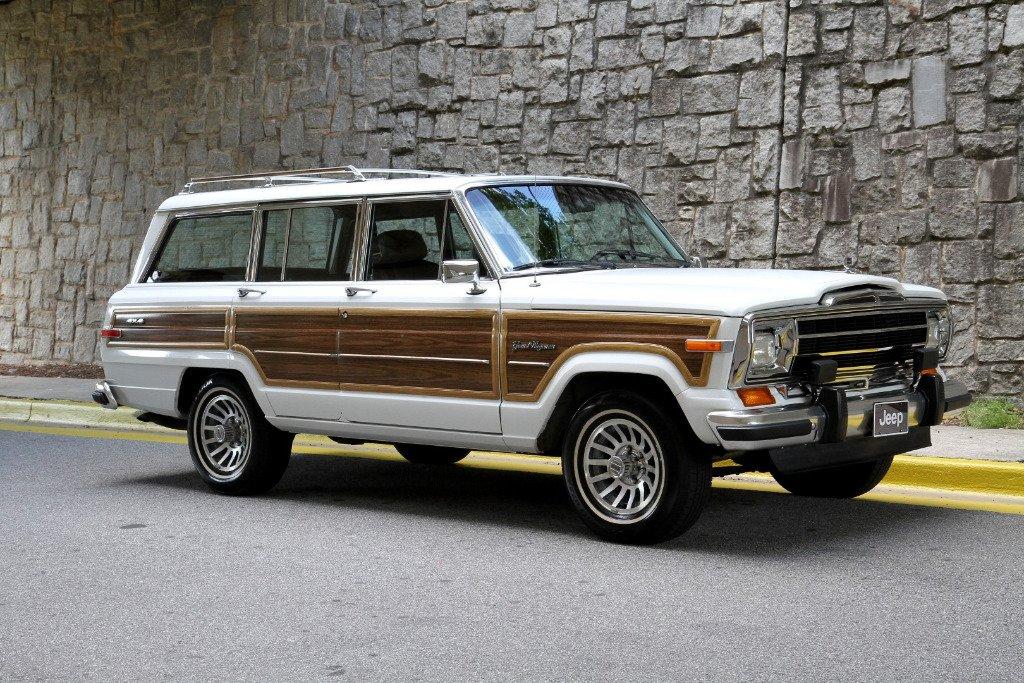 1991 jeep grand wagoneer 4wd