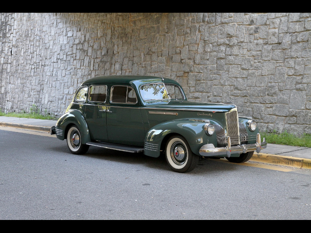 1941 packard 120 touring sedan