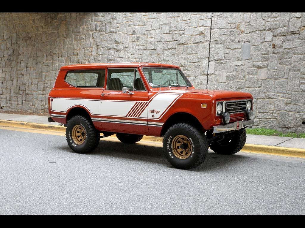 1978 international scout ii rallye
