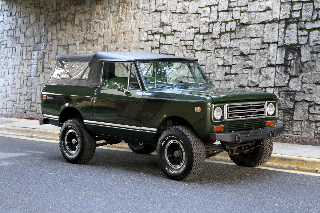 1976 international scout ii rallye