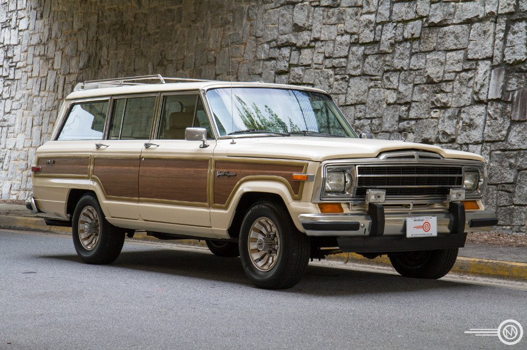 1987 jeep grand wagoneer limited