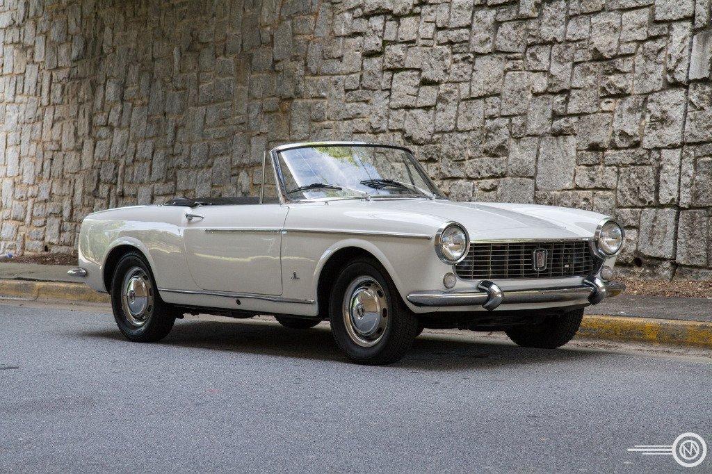 1966 fiat 1500 cabriolet