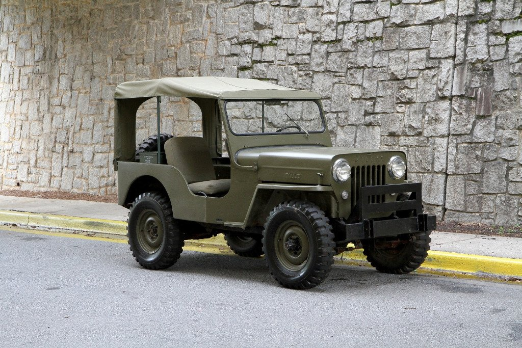 1953 willys jeep cj3b