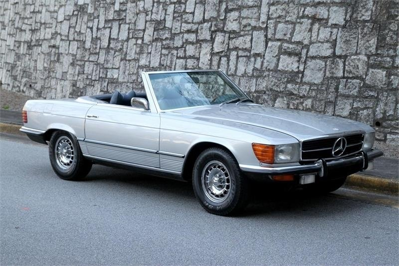 1973 mercedes benz 450 sl