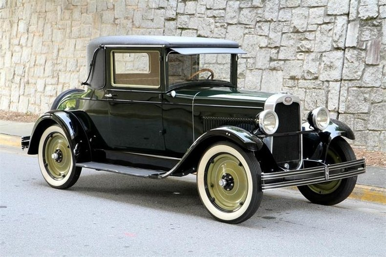 1928 Chevrolet Coupe | Motorcar Studio