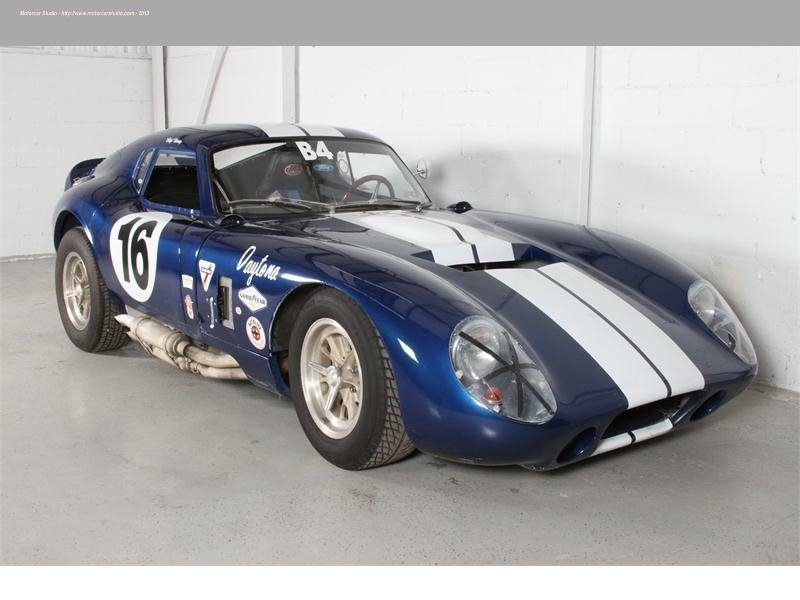 1965 ford shelby daytona replica