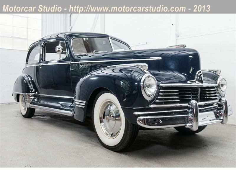 1947 hudson super six brougham