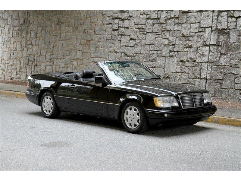 1994 mercedes benz e class e320 cabriolet