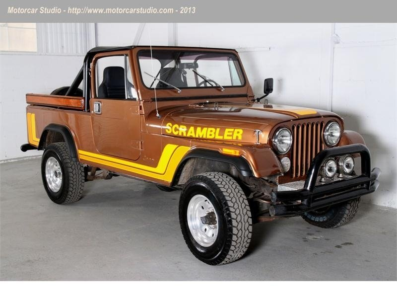1985 amc scrambler cj8