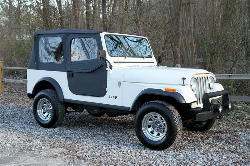 1986 jeep cj 7 base