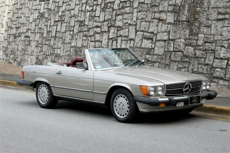 1988 mercedes benz 560 sl coupe
