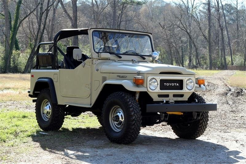 1981 toyota land cruiser 4wd