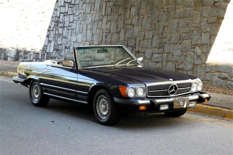 1983 mercedes benz 380 sl