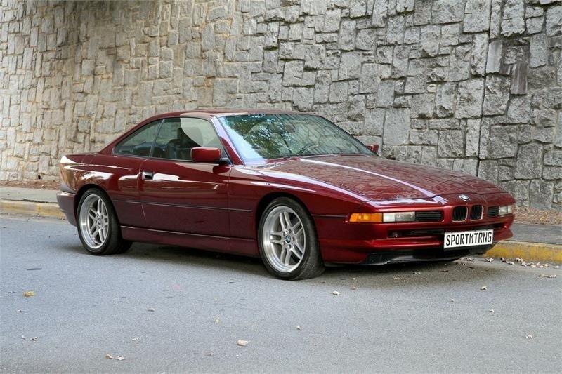 1991 bmw 850i 850i