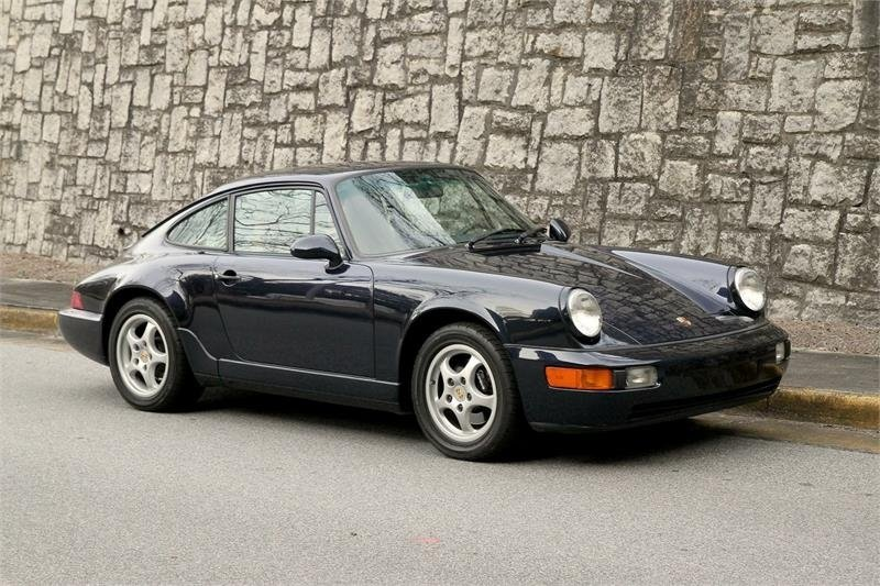 1992 porsche 911 carrera 4 coupe