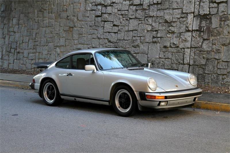 1986 porsche 911 carrera carrera