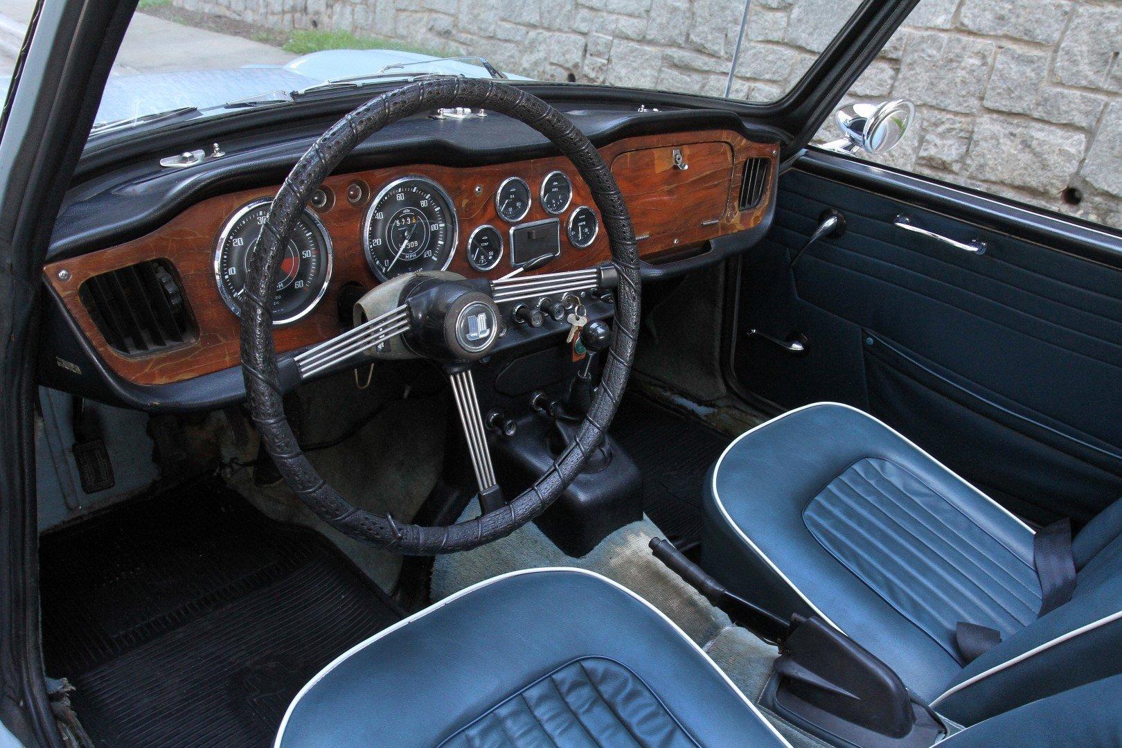 1968 Triumph TR4A | Motorcar Studio