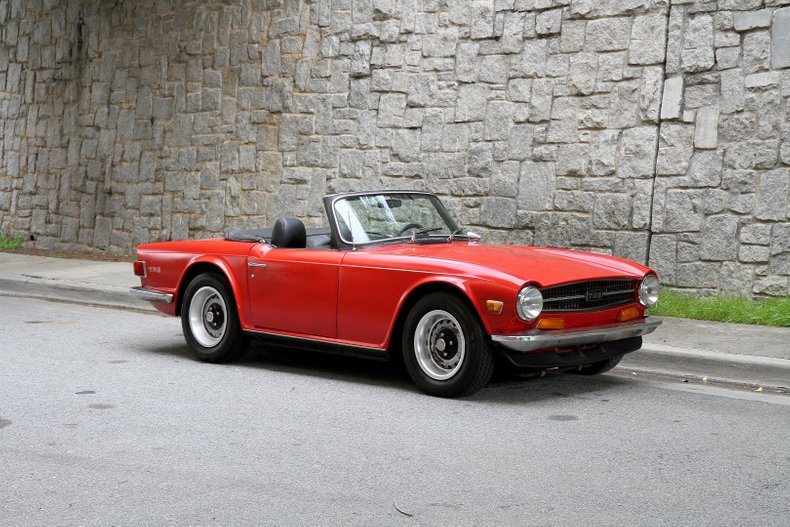1972 Triumph TR6 For Sale