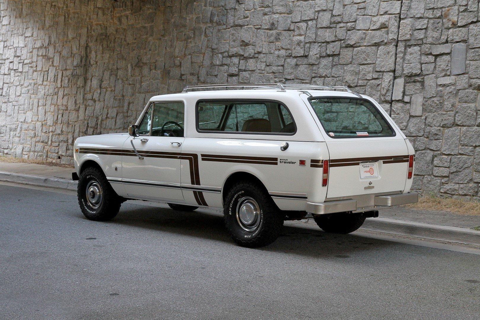 1978 International Scout II   Motorcar Studio
