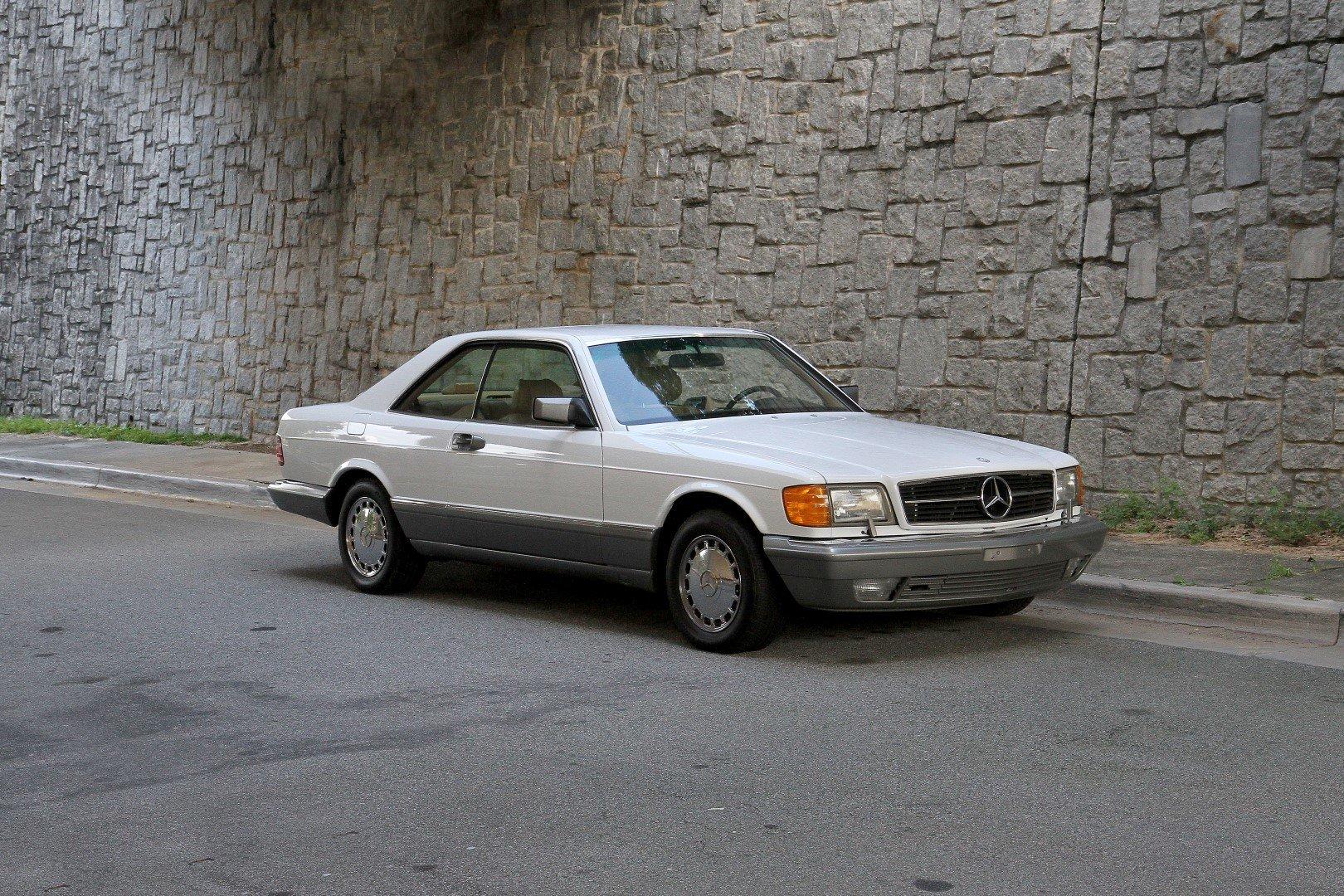 1986 mercedes benz 560 sec