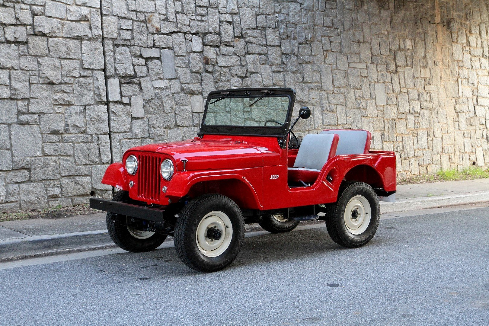 1959 Willys Jeep   Motorcar Studio