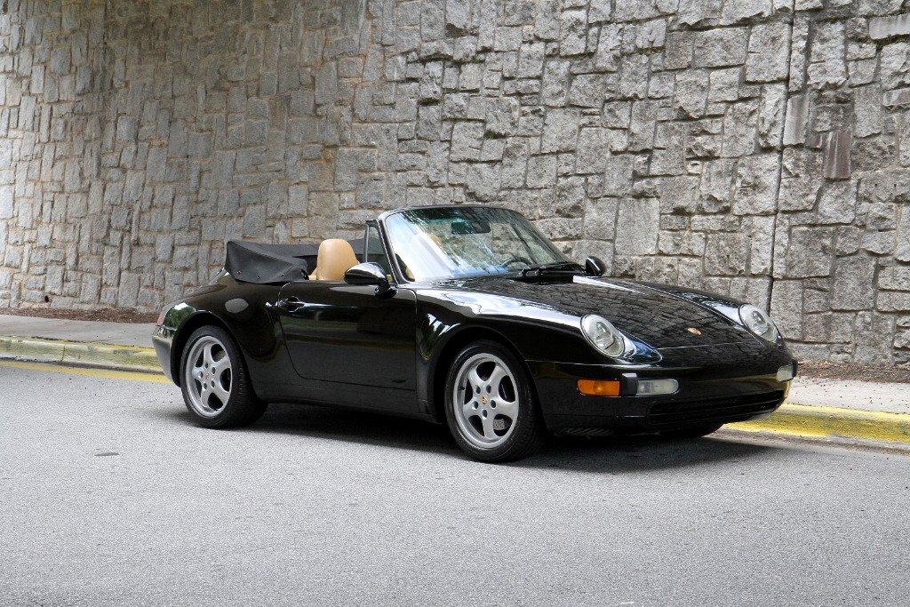 1995 porsche 911 993 carrera cabriolet