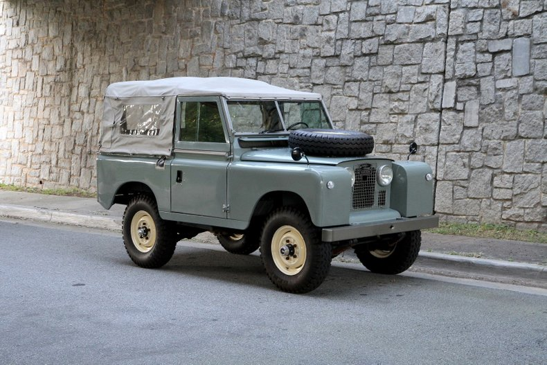 1967 Land Rover Series IIA For Sale