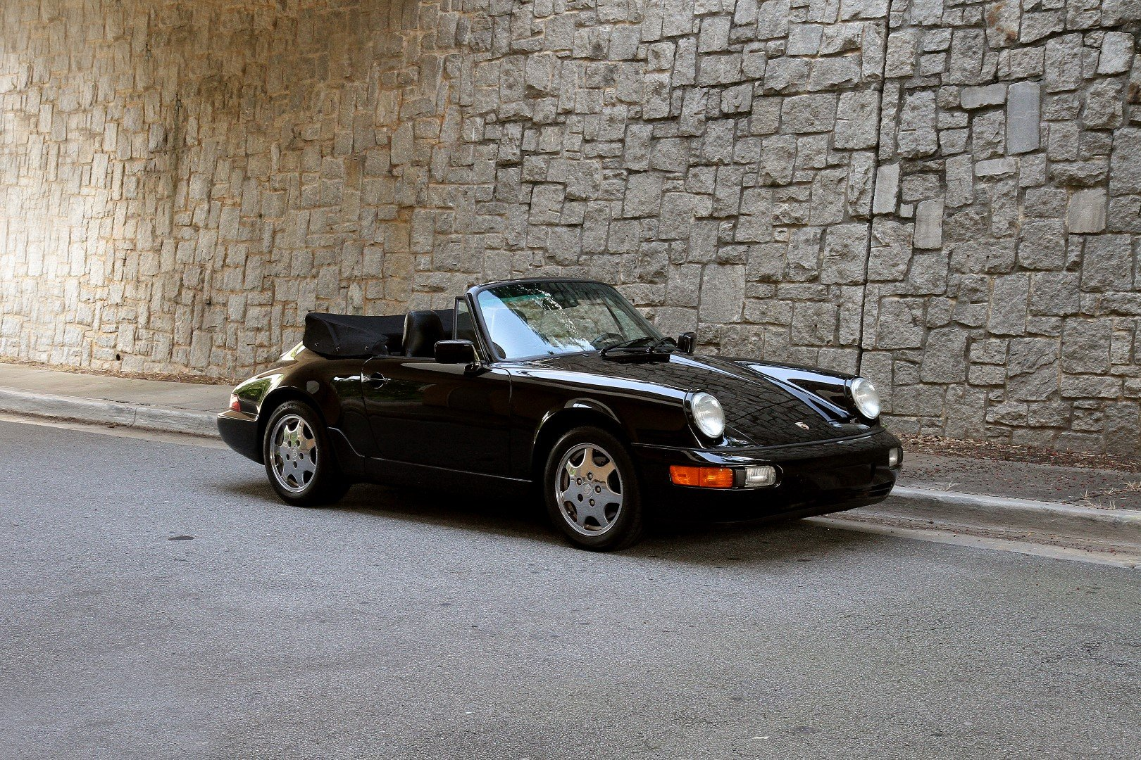 1991 porsche 911 carrera cabriolet