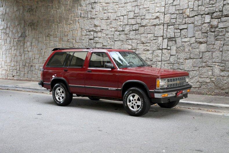 1992 Chevrolet Blazer For Sale
