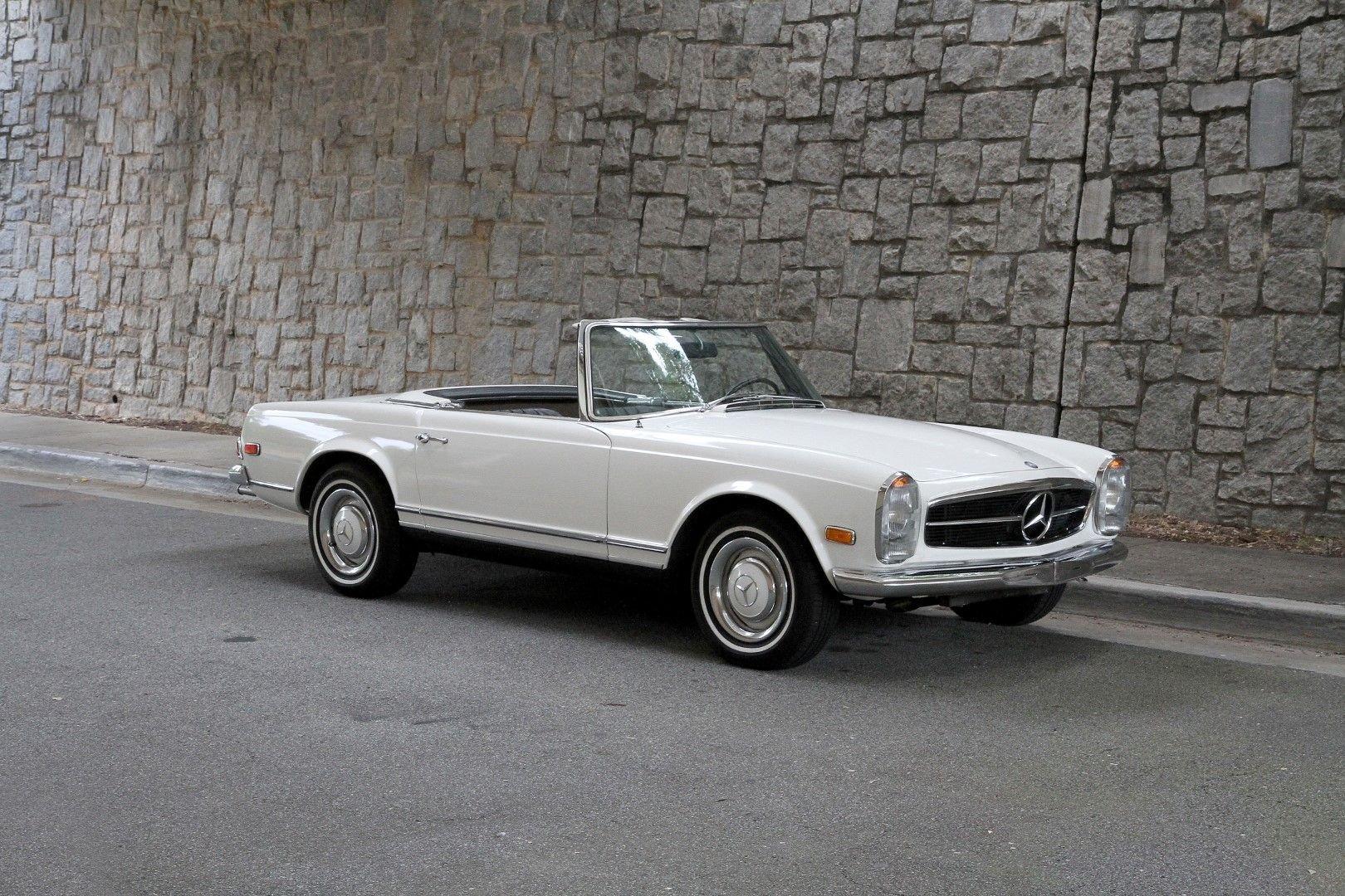 1968 mercedes benz 250sl