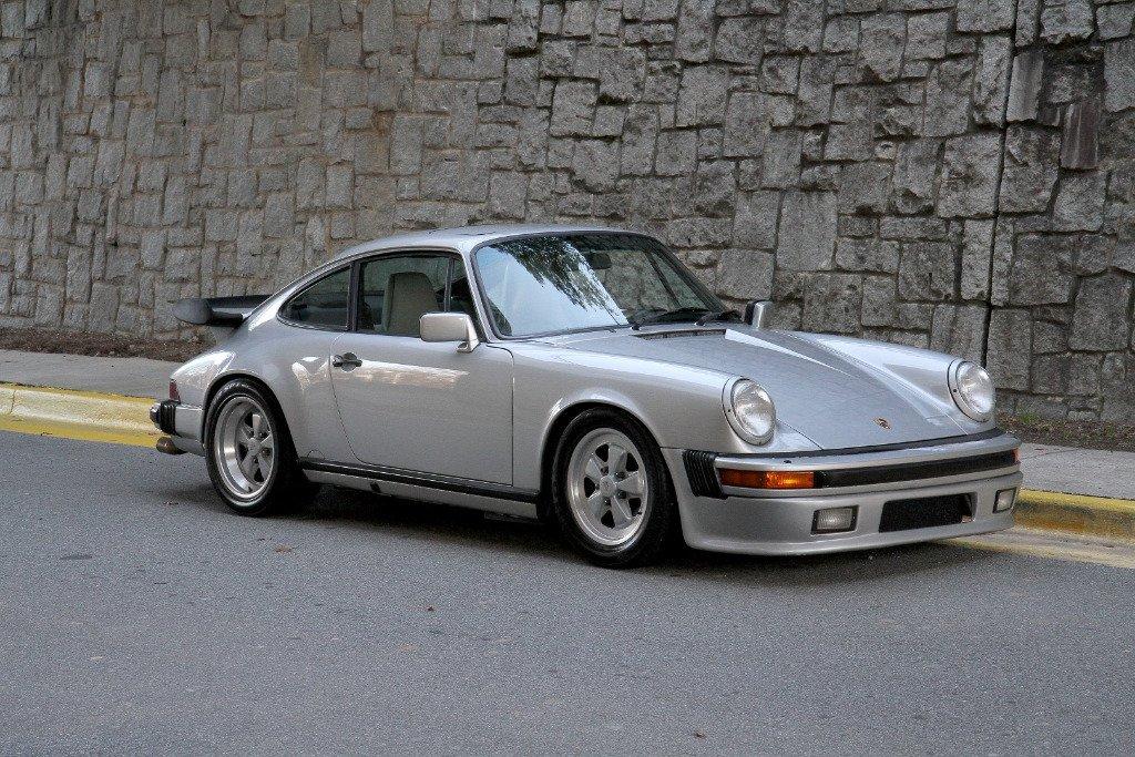 1989 porsche 911 carrera turbo coupe