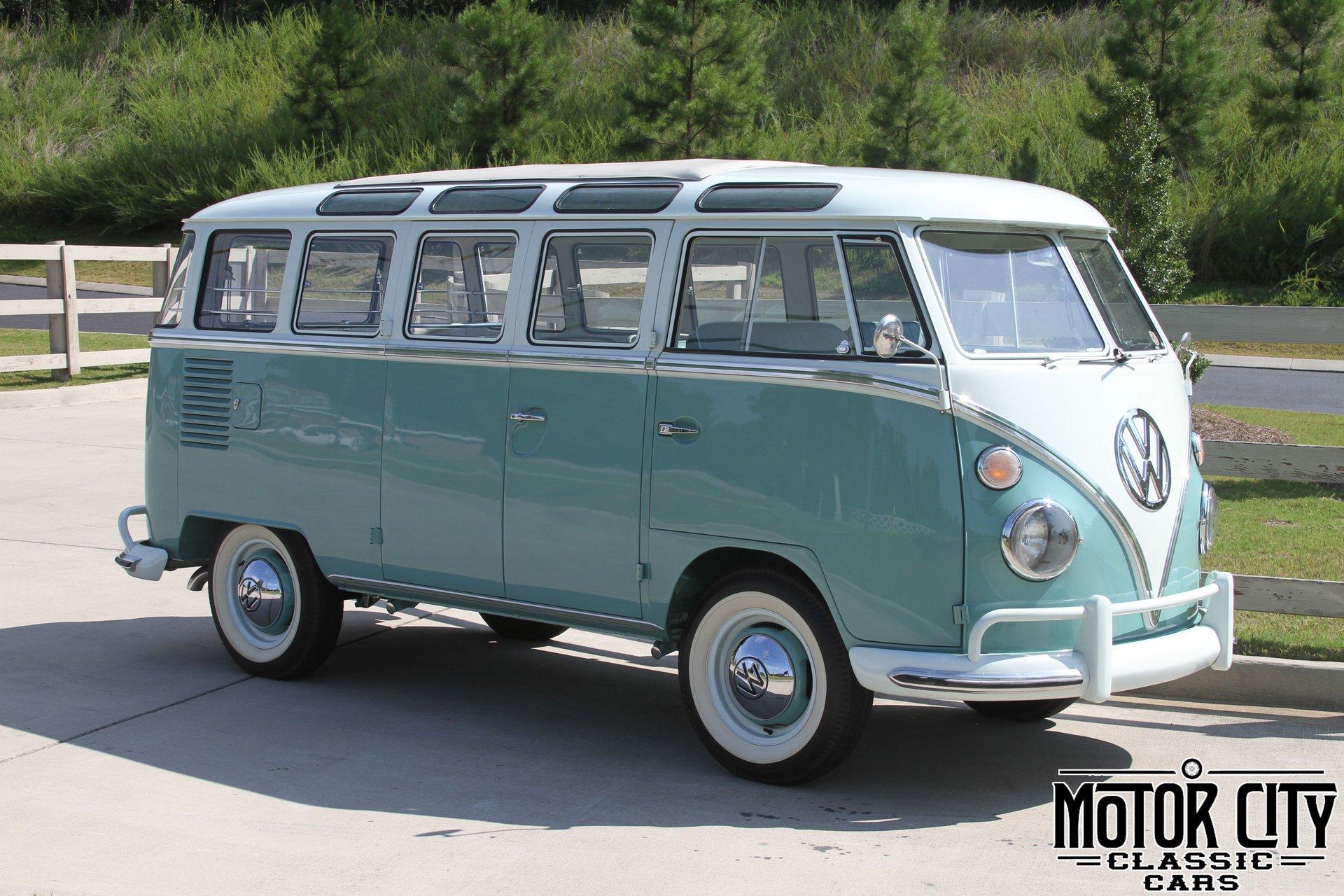1963 volkswagen samba