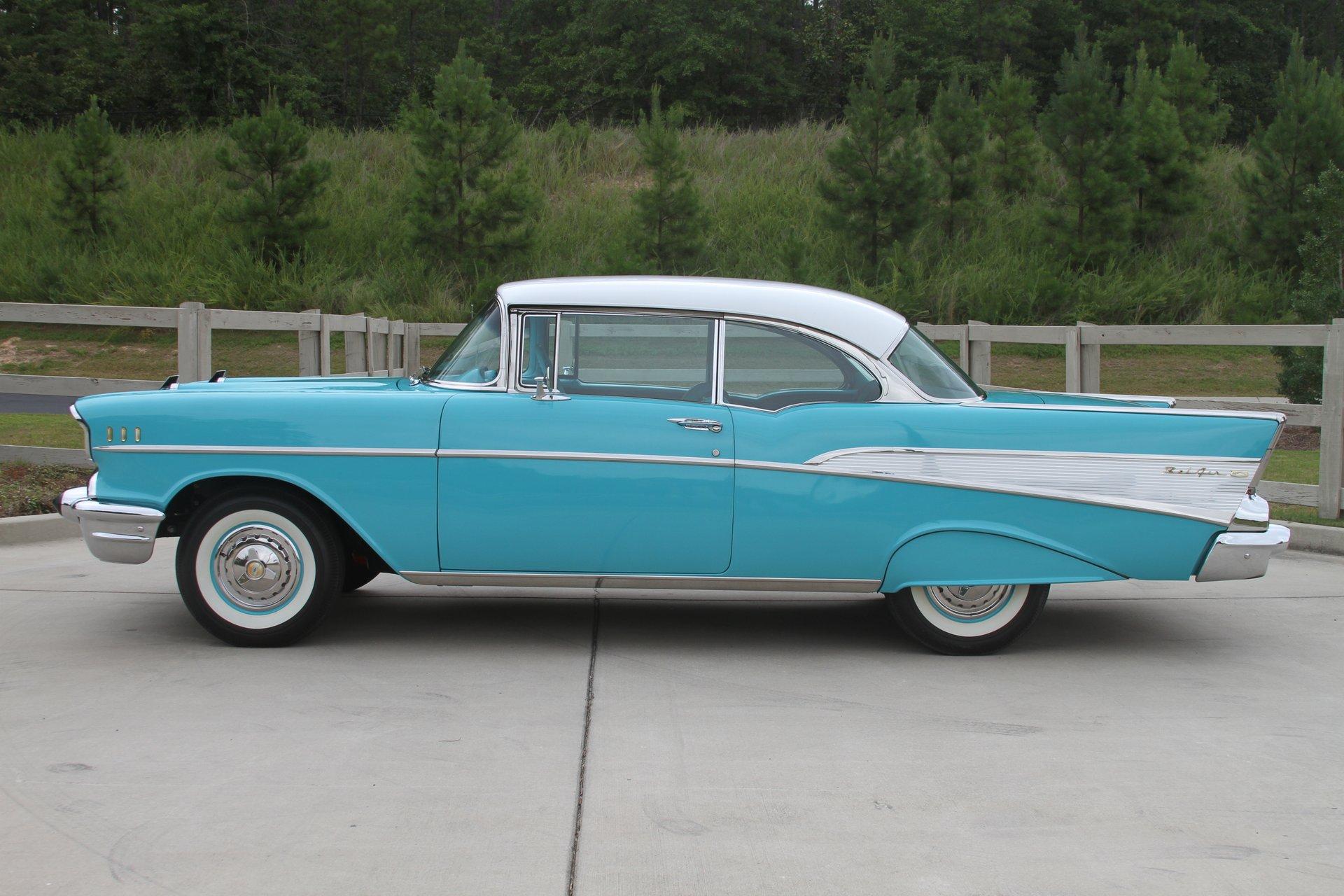 1957 Chevrolet Bel Air Motor City Classic Cars Sales Brochure