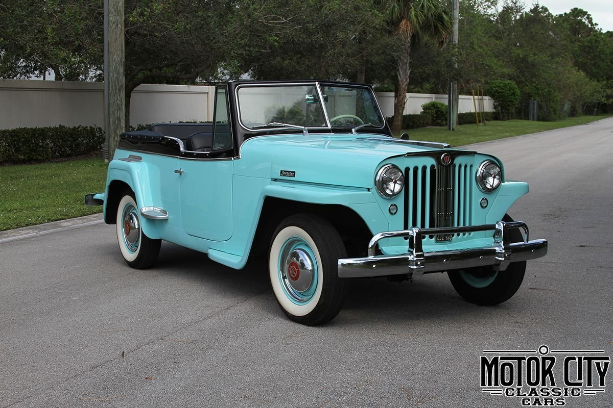 1948 willys overland jeepster