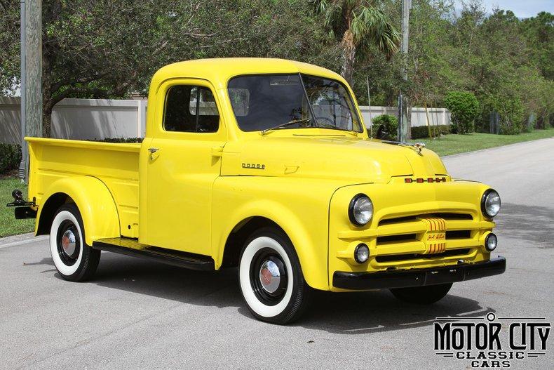 1952 Dodge B3B Pilothouse Pickup