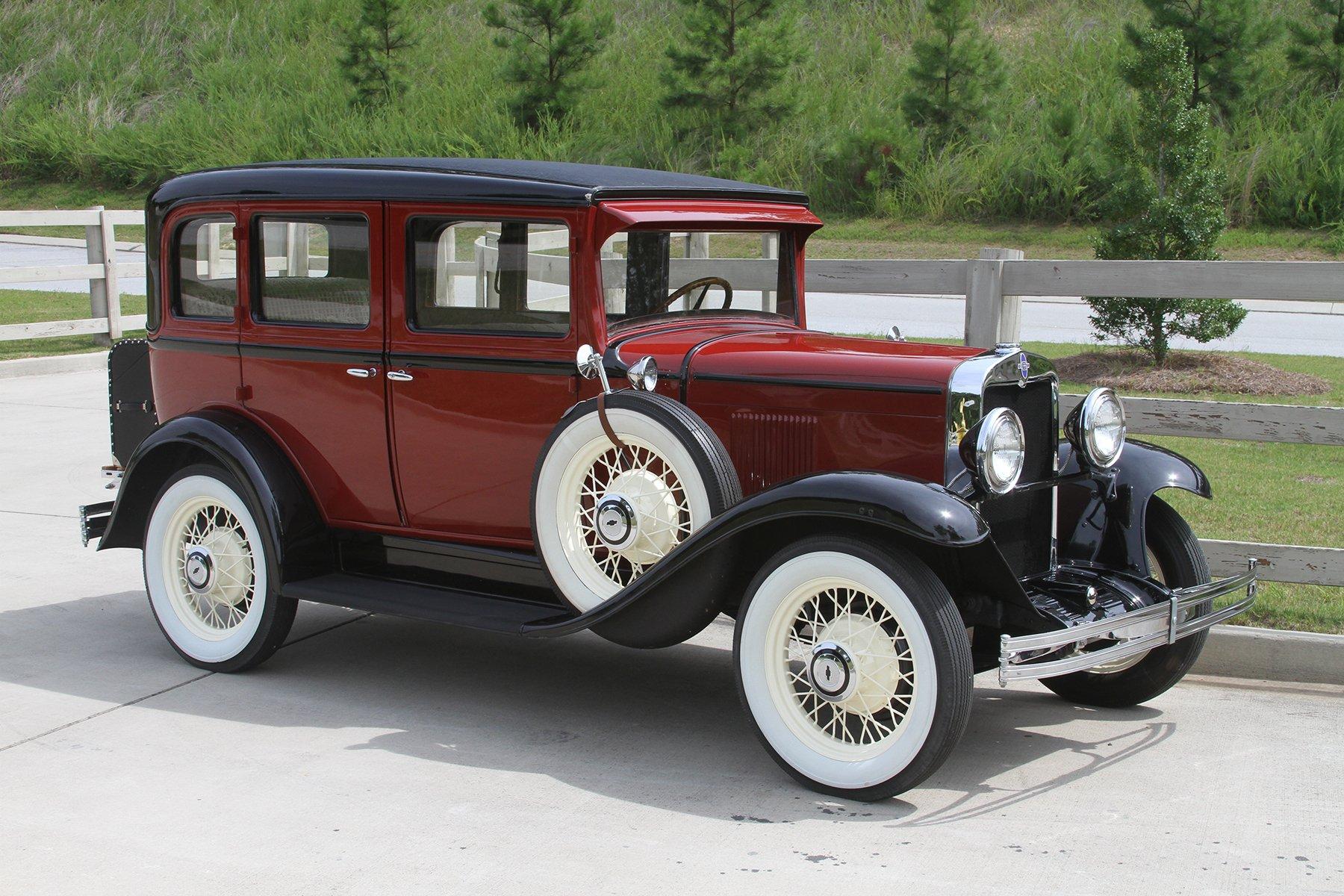 1930 chevrolet 4 door sedan