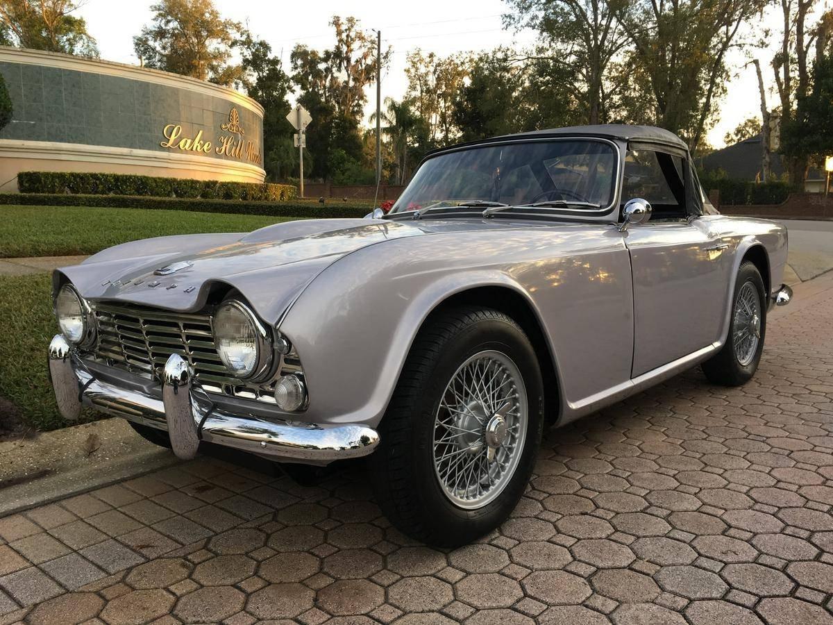 1965 Triumph Tr4 For Sale 146875 Motorious