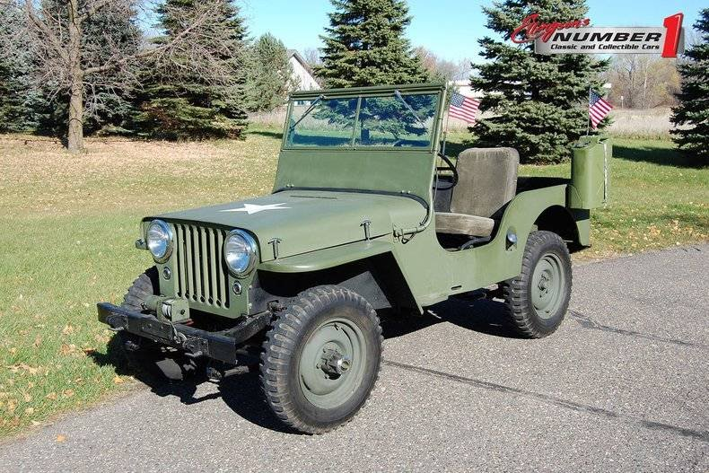 Willys Jeep For Sale >> 1946 Willys Jeep For Sale 149266 Motorious