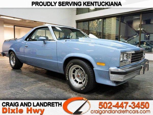 Craig And Landreth Dixie >> 1984 Chevrolet El Camino For Sale 152700 Motorious
